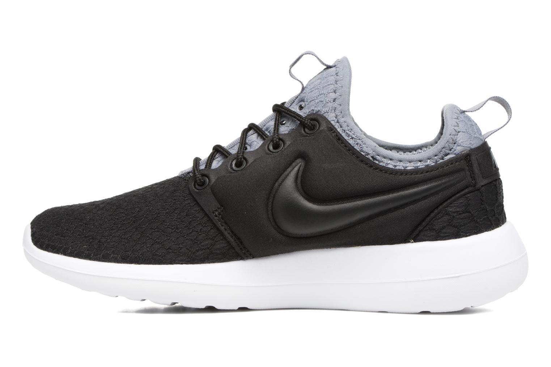 Sneaker Nike W Roshe Two Se schwarz ansicht von vorne