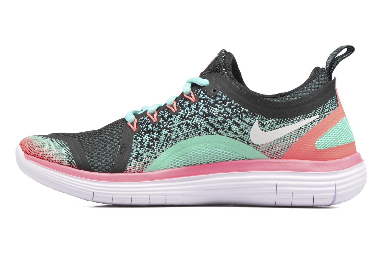 Chaussures de sport Nike Wmns Nike Free Rn Distance 2 Multicolore vue face
