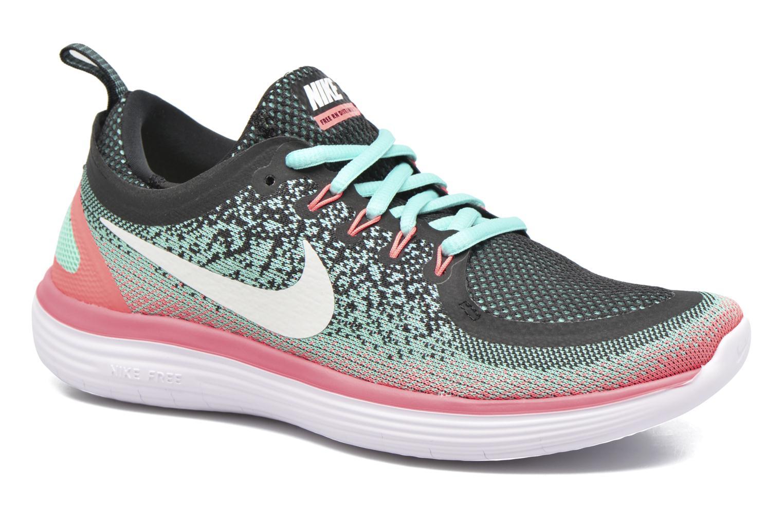 Wmns Nike Free Rn Distance 2 Hyper Turq/White-Green Glow-Lava Glow