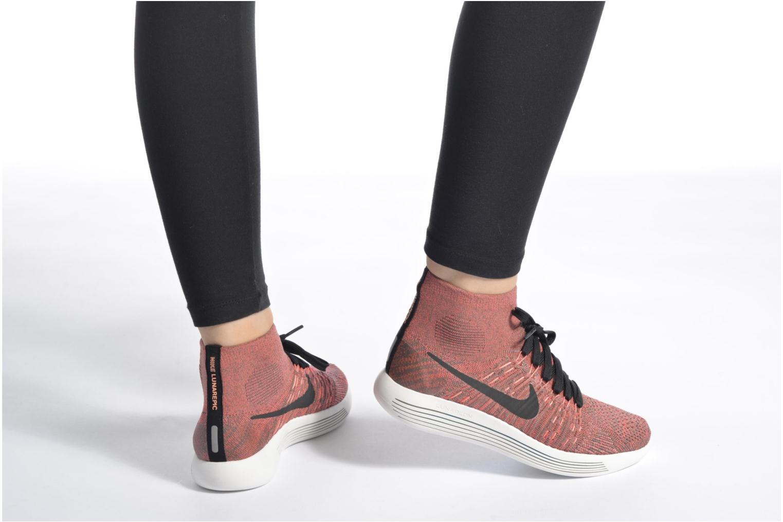 Wmns Nike Lunarepic Flyknit Black/White-Anthracite-Volt