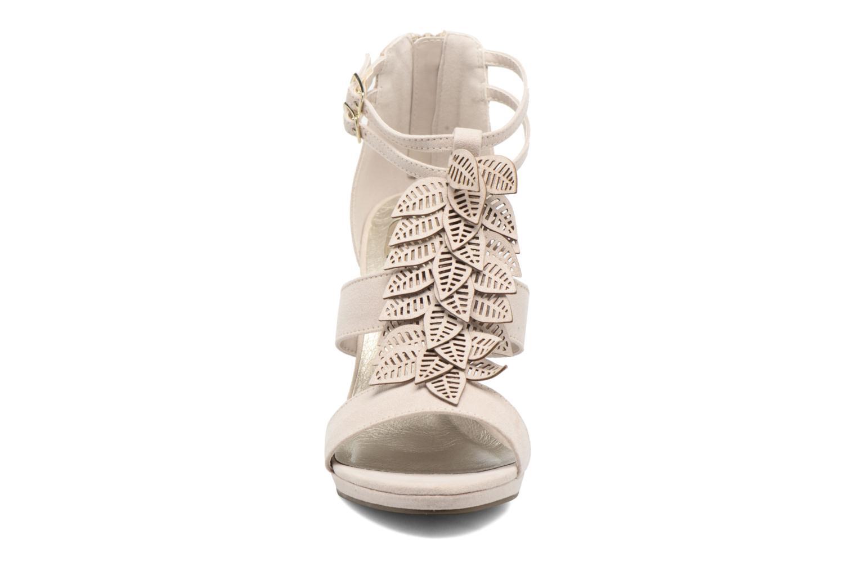 Sandalen Bullboxer Laline beige schuhe getragen
