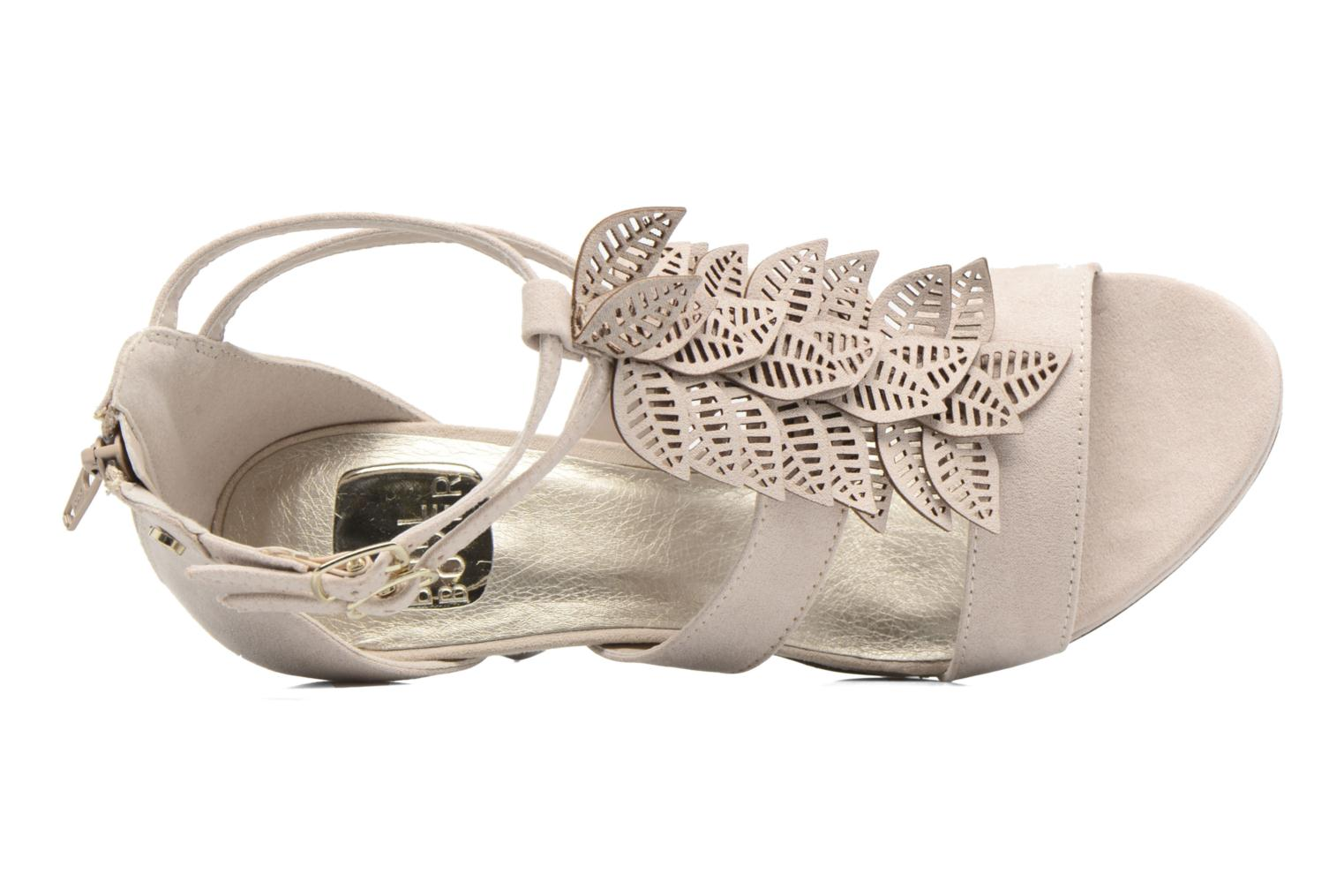 Sandals Bullboxer Laline Beige view from the left