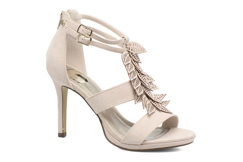 Sandaler Bullboxer Laline Beige detaljeret billede af skoene