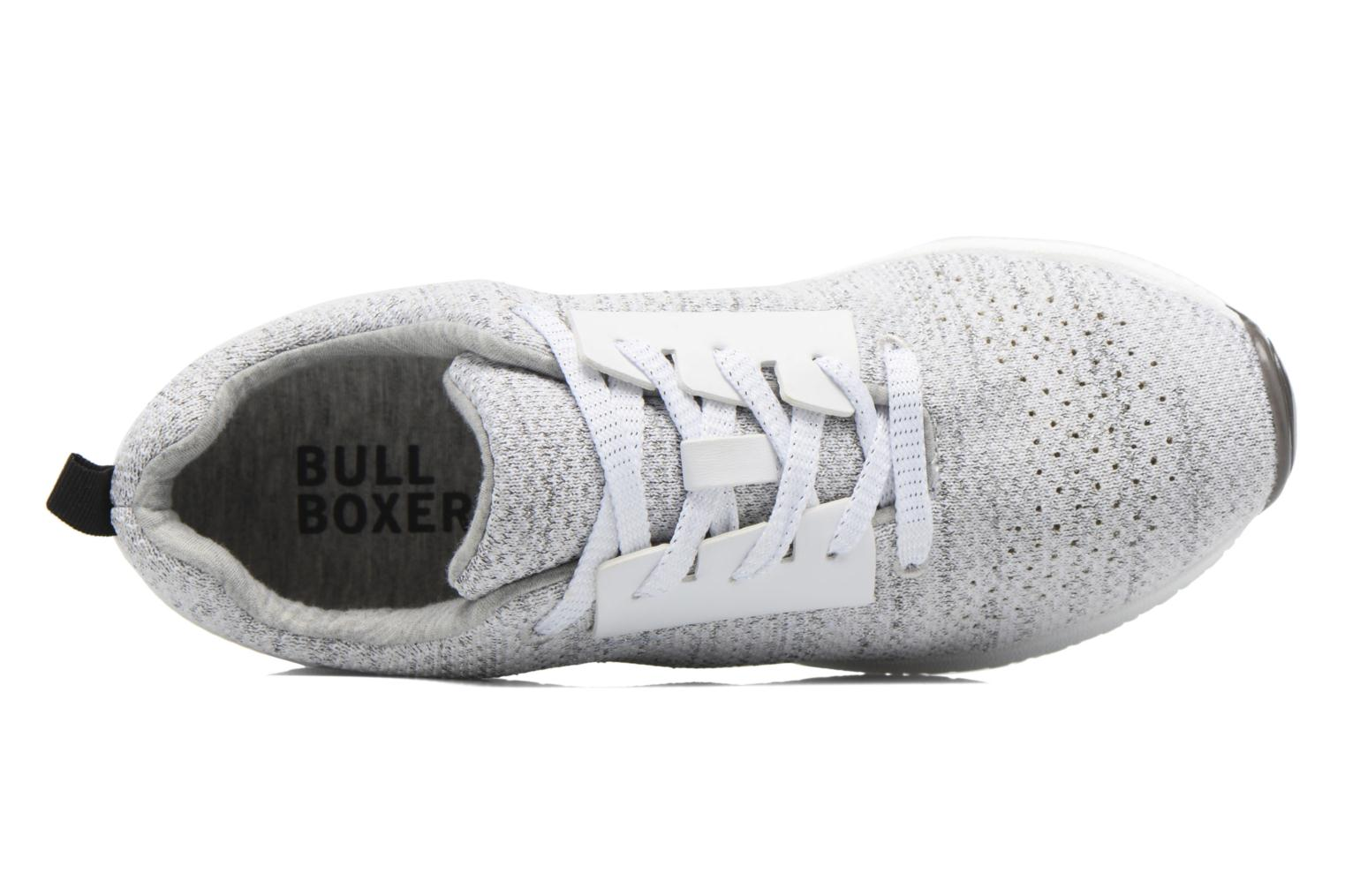 Sneakers Bullboxer Ziza Argento immagine sinistra