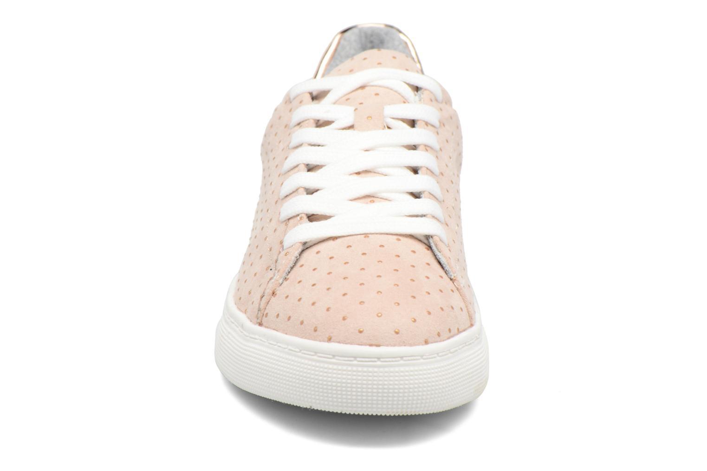Baskets I Love Shoes MC ETASSI Rose vue portées chaussures