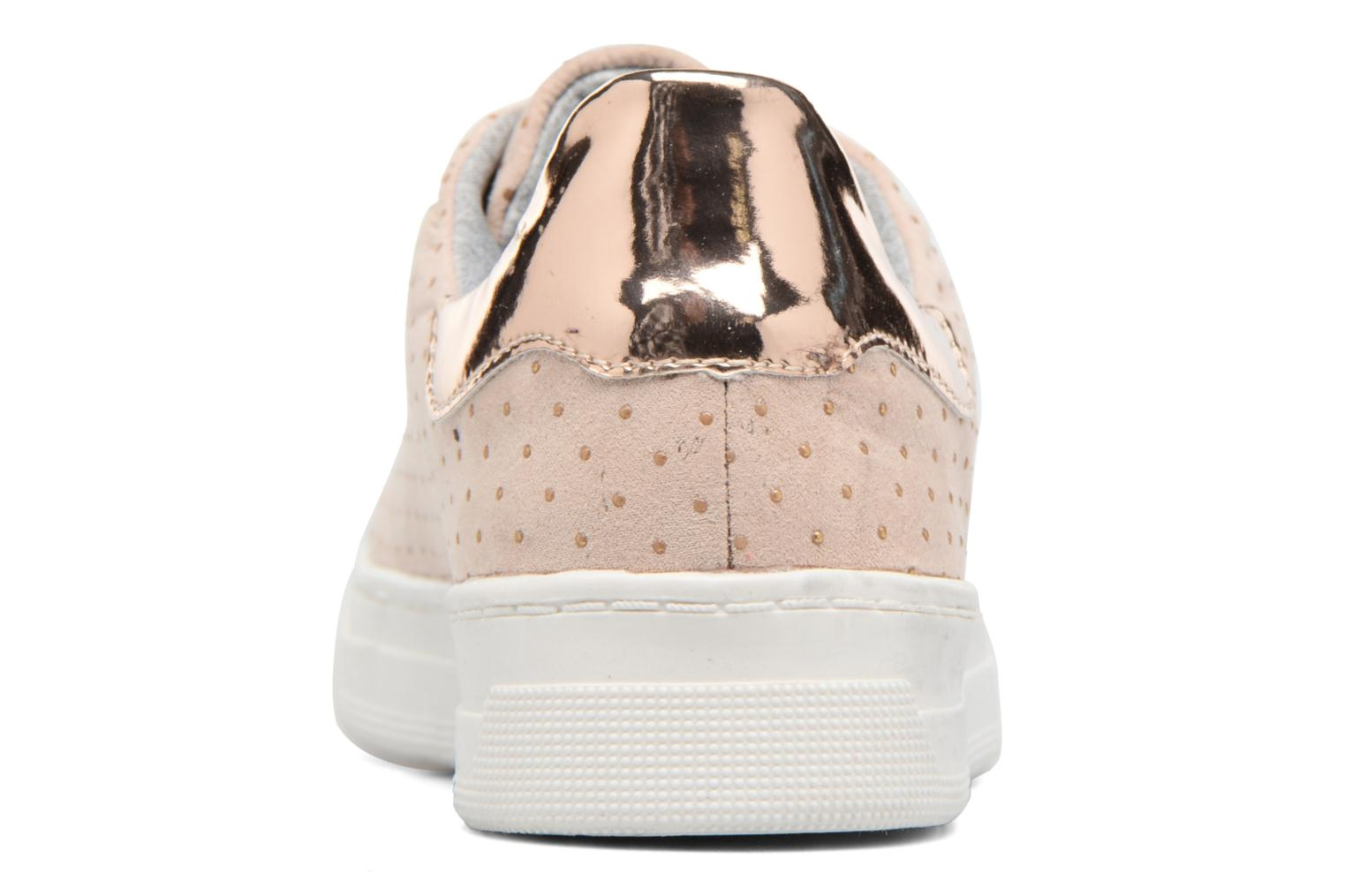 Baskets I Love Shoes MC ETASSI Rose vue droite