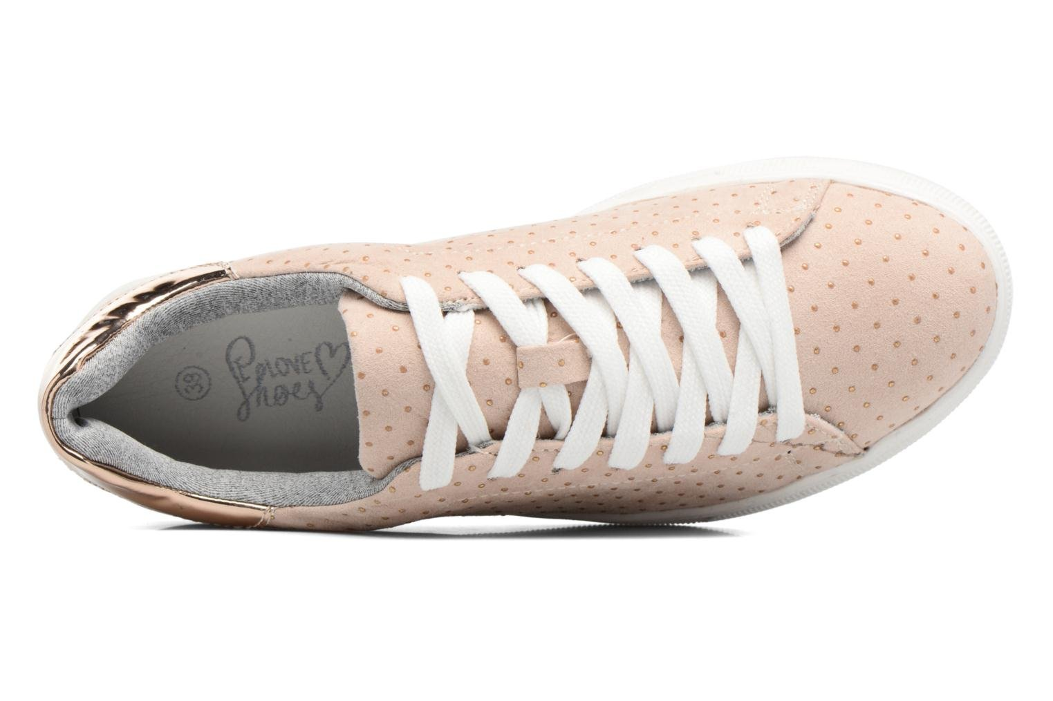 Baskets I Love Shoes MC ETASSI Rose vue gauche