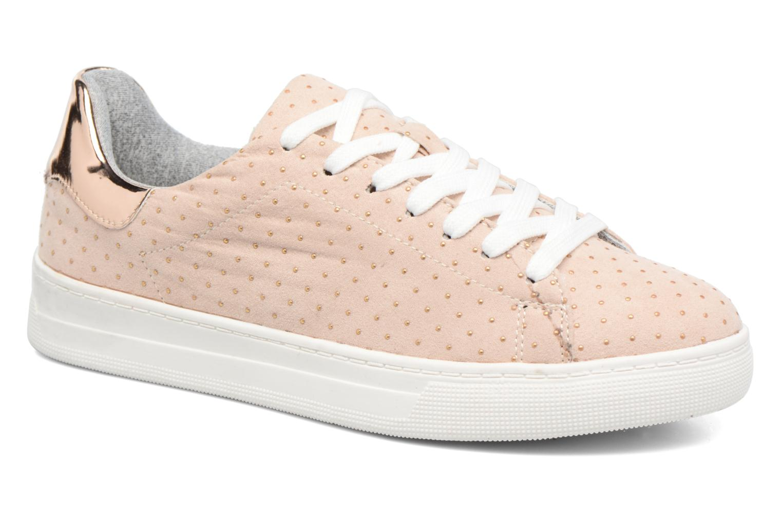Baskets I Love Shoes MC ETASSI Rose vue détail/paire