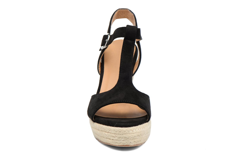 Espadrilles I Love Shoes MCADA Black model view