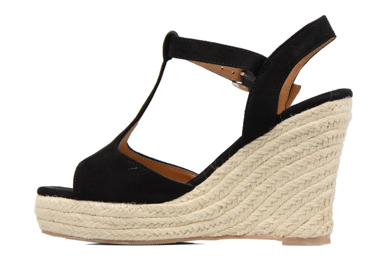 Espadrilles I Love Shoes MCADA Black front view