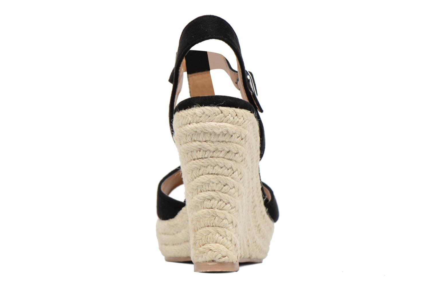 Espadrilles I Love Shoes MCADA Black view from the right