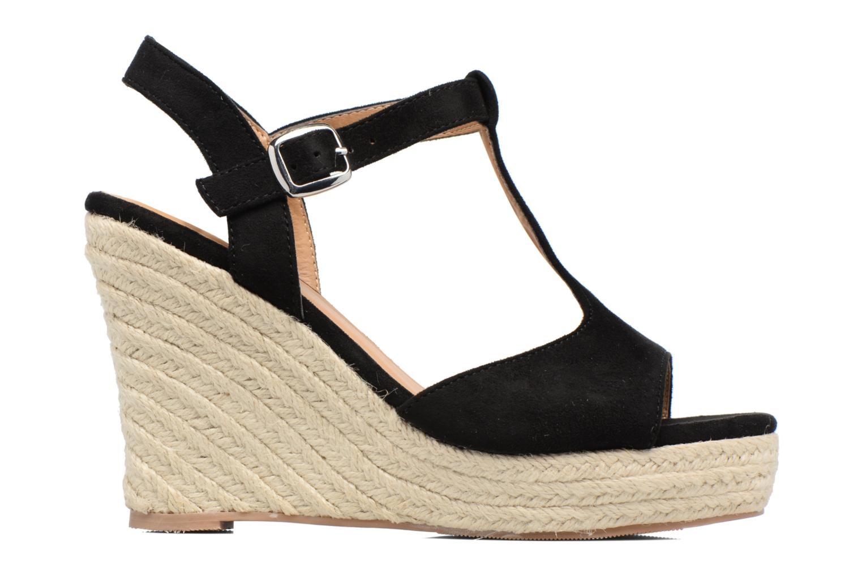 Espadrilles I Love Shoes MCADA schwarz ansicht von hinten
