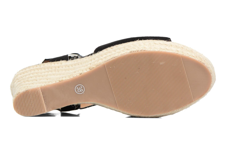 Alpargatas I Love Shoes MCADA Negro vista de arriba