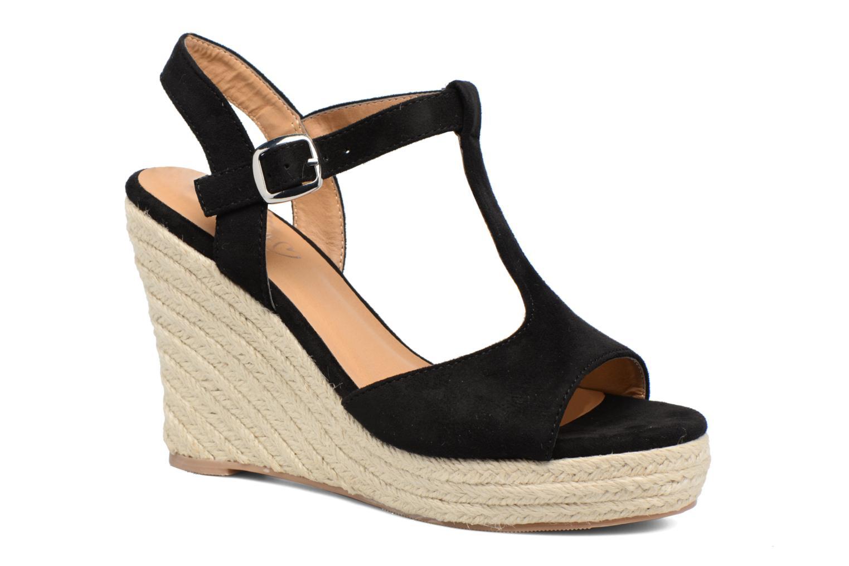 Espadrilles I Love Shoes MCADA Noir vue détail/paire
