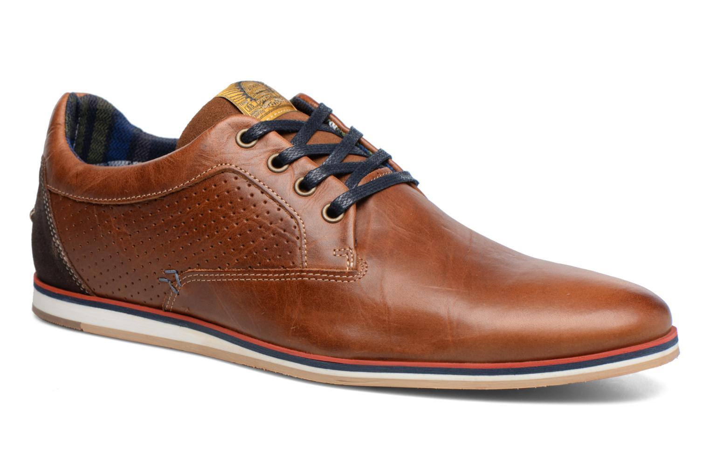 Chaussures à lacets Bullboxer Hemlock 2 Marron vue détail/paire