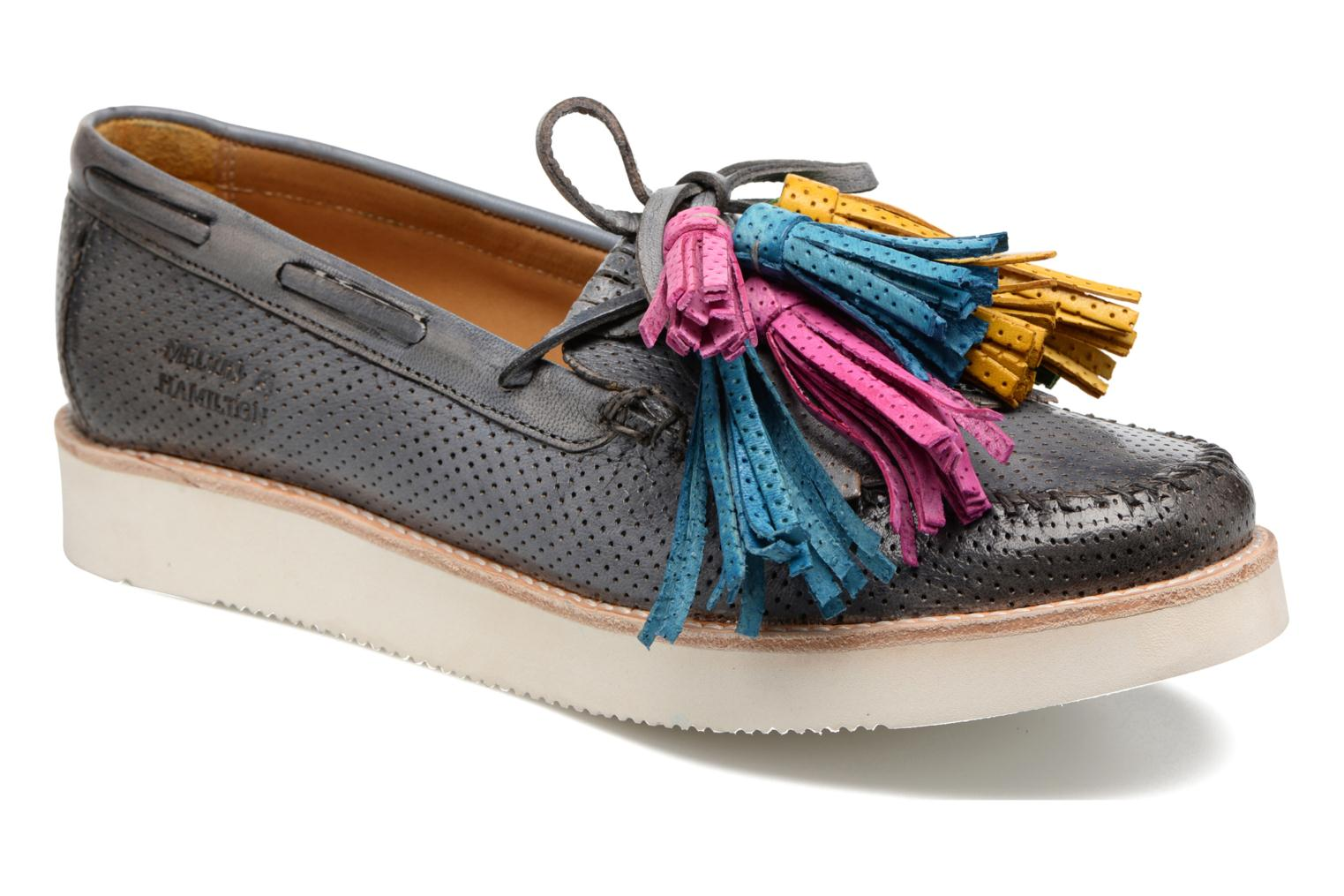 Bea 4 Venice Perfo Morning Grey Tassel Multi New Malden