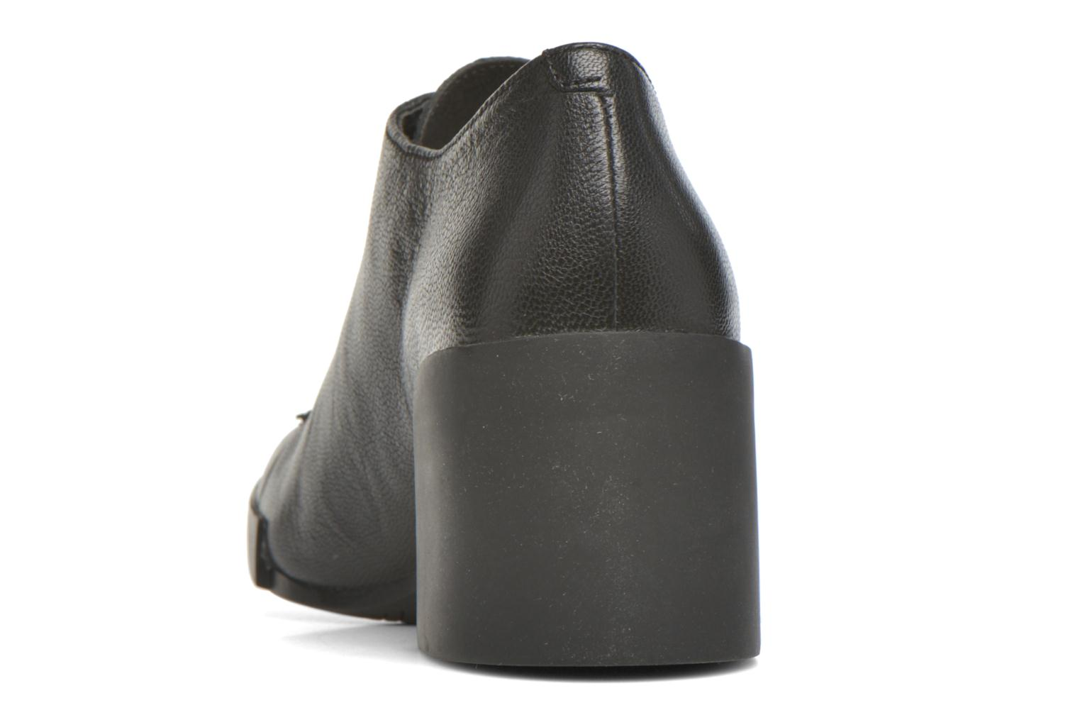 Ankle boots Camper Lotta Lace Black view from the right