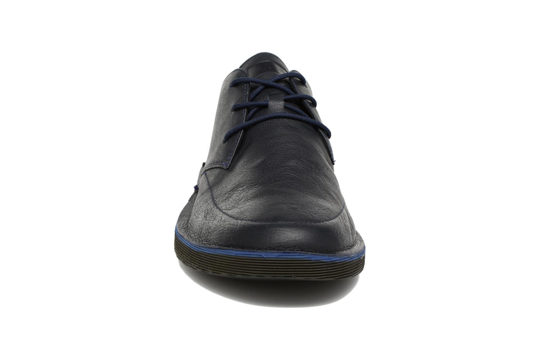 Scarpe con lacci Camper Morrys Azzurro modello indossato
