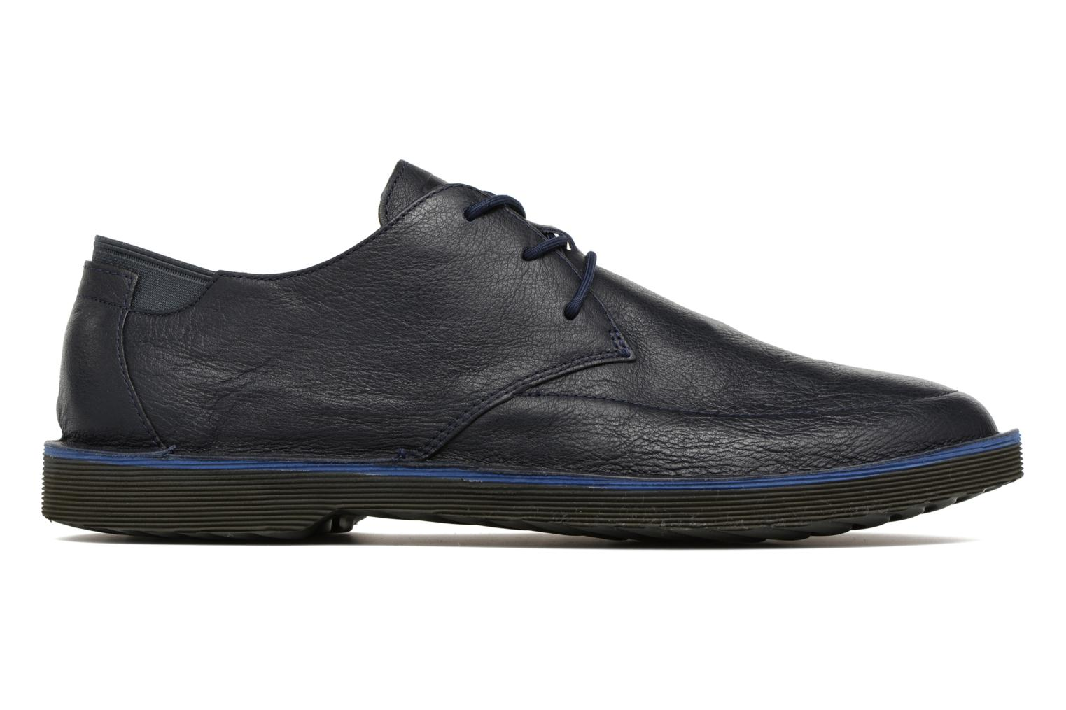 Lace-up shoes Camper Morrys Blue back view