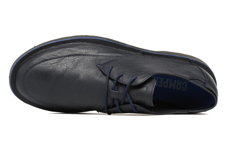 Scarpe con lacci Camper Morrys Azzurro immagine sinistra