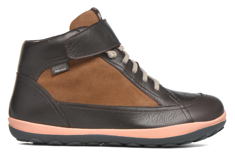 Chaussures à lacets Camper Peu Pista Kids F Marron vue derrière