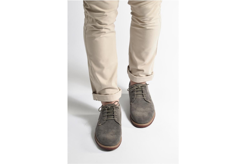 Chaussures à lacets I Love Shoes KERED Bleu vue bas / vue portée sac