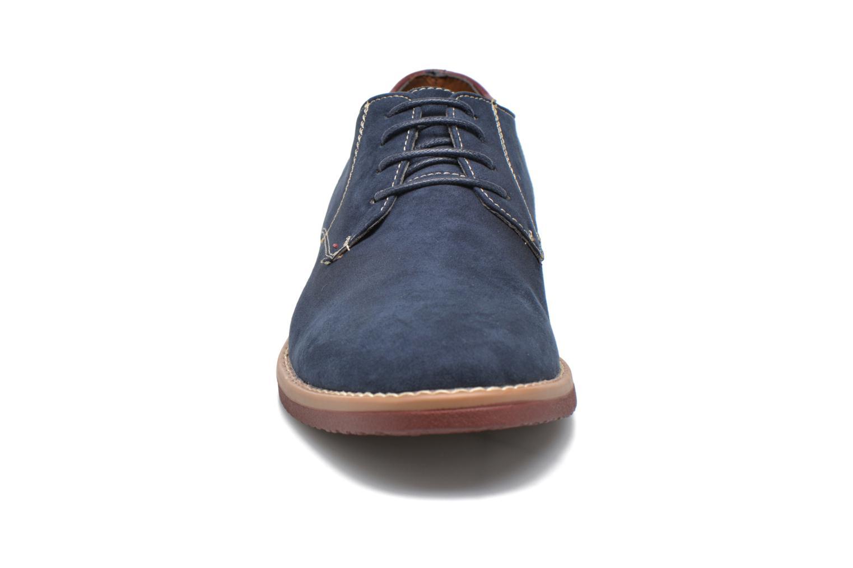 Chaussures à lacets I Love Shoes KERED Bleu vue portées chaussures