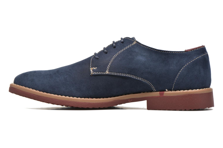 Schnürschuhe I Love Shoes KERED blau ansicht von vorne