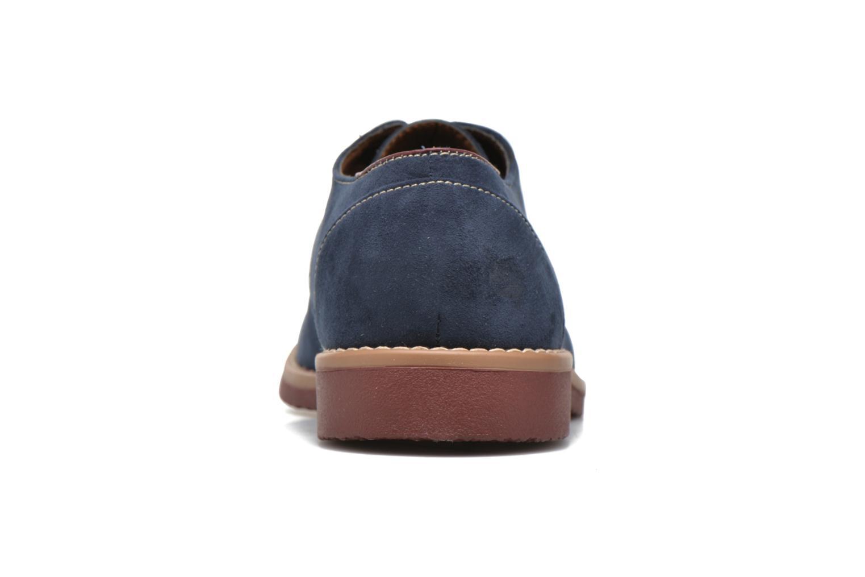 Schnürschuhe I Love Shoes KERED blau ansicht von rechts