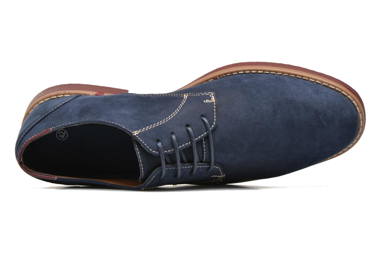 Schnürschuhe I Love Shoes KERED blau ansicht von links