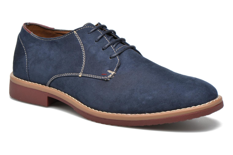 Chaussures à lacets I Love Shoes KERED Bleu vue détail/paire