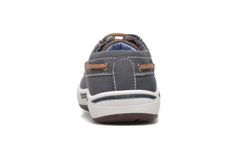 Sneaker I Love Shoes KEBOAT blau ansicht von rechts