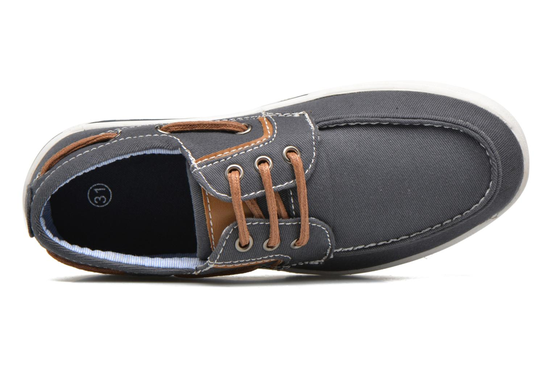 Deportivas I Love Shoes KEBOAT Azul vista lateral izquierda