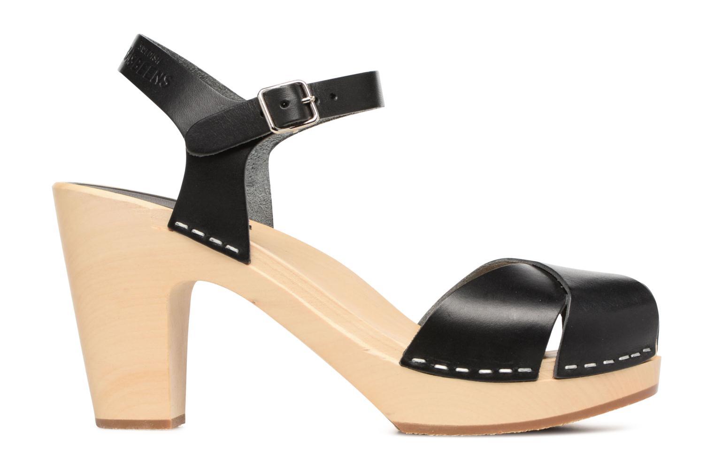 Sandali e scarpe aperte Swedish Hasbeens Merci Sandal Nero immagine posteriore