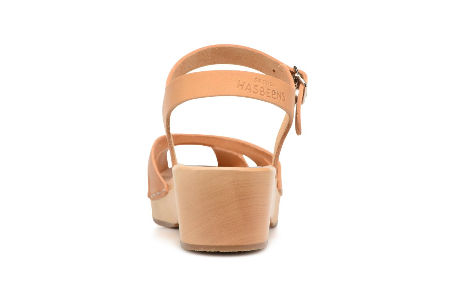 Sandals Swedish Hasbeens Suzanne Debutant Beige view from the right