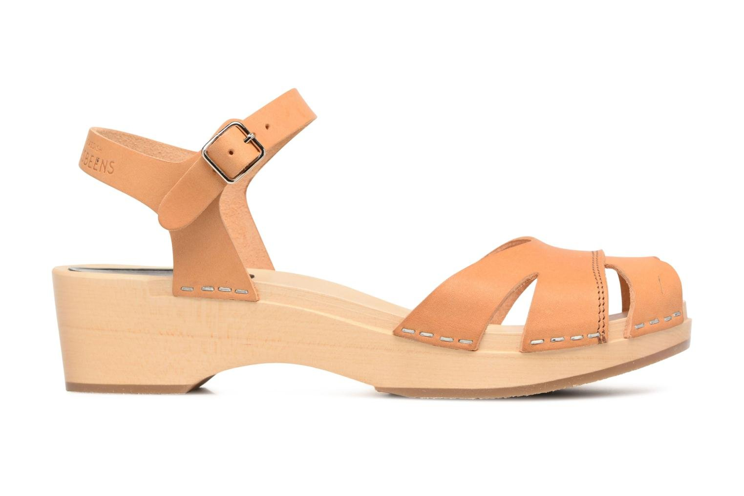 Sandals Swedish Hasbeens Suzanne Debutant Beige back view