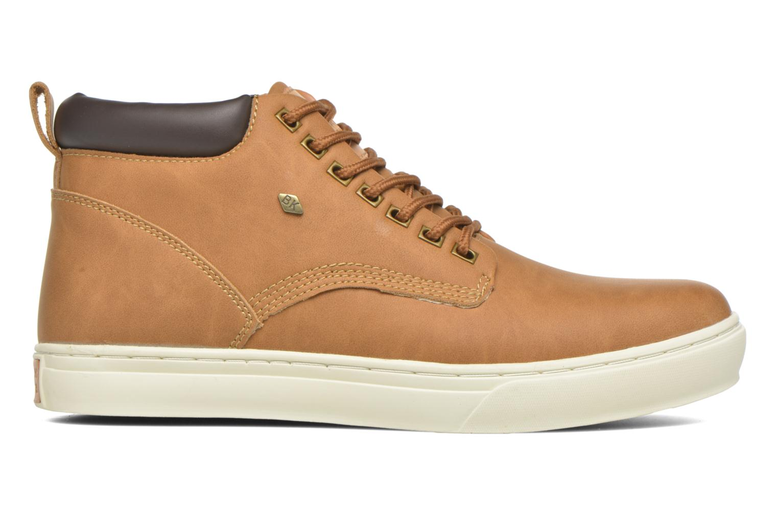 Sneakers British Knights Wood M Bruin achterkant