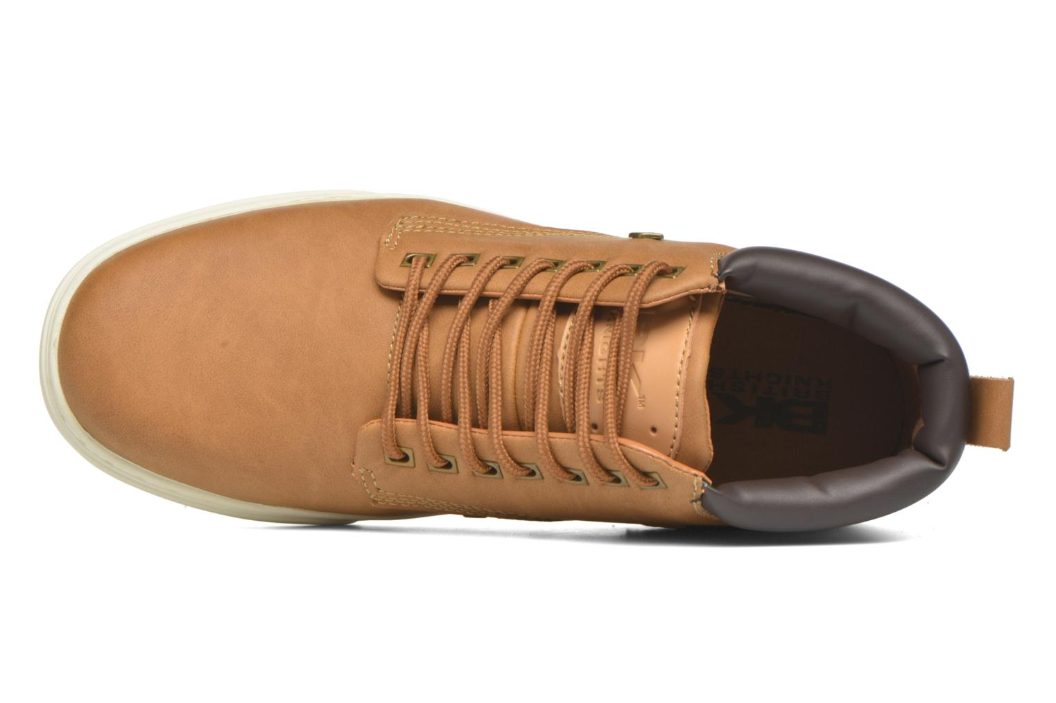 Sneakers British Knights Wood M Brun se fra venstre