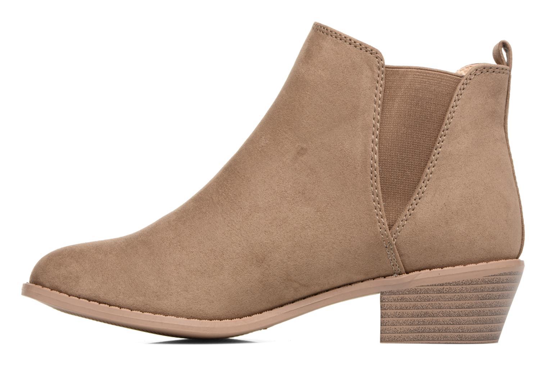 Bottines et boots Dorothy Perkins Millie Marron vue face