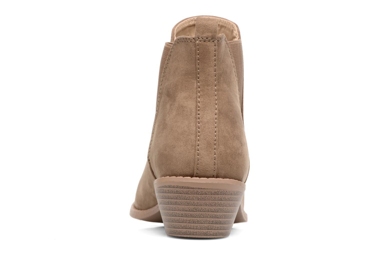 Bottines et boots Dorothy Perkins Millie Marron vue droite