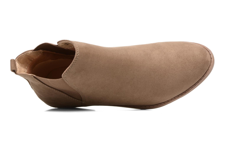 Bottines et boots Dorothy Perkins Millie Marron vue gauche