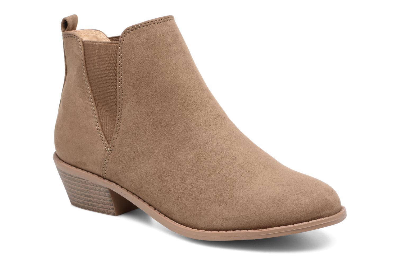 Bottines et boots Dorothy Perkins Millie Marron vue détail/paire
