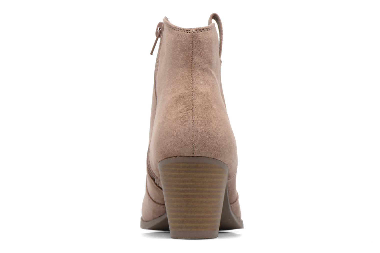 Boots en enkellaarsjes Dorothy Perkins Amber Grijs rechts