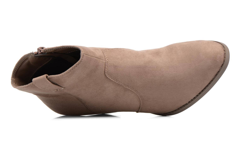 Boots en enkellaarsjes Dorothy Perkins Amber Grijs links