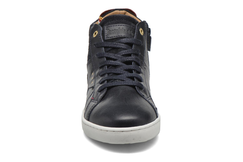 Sneaker Pantofola d'Oro Montefino mid JR schwarz schuhe getragen