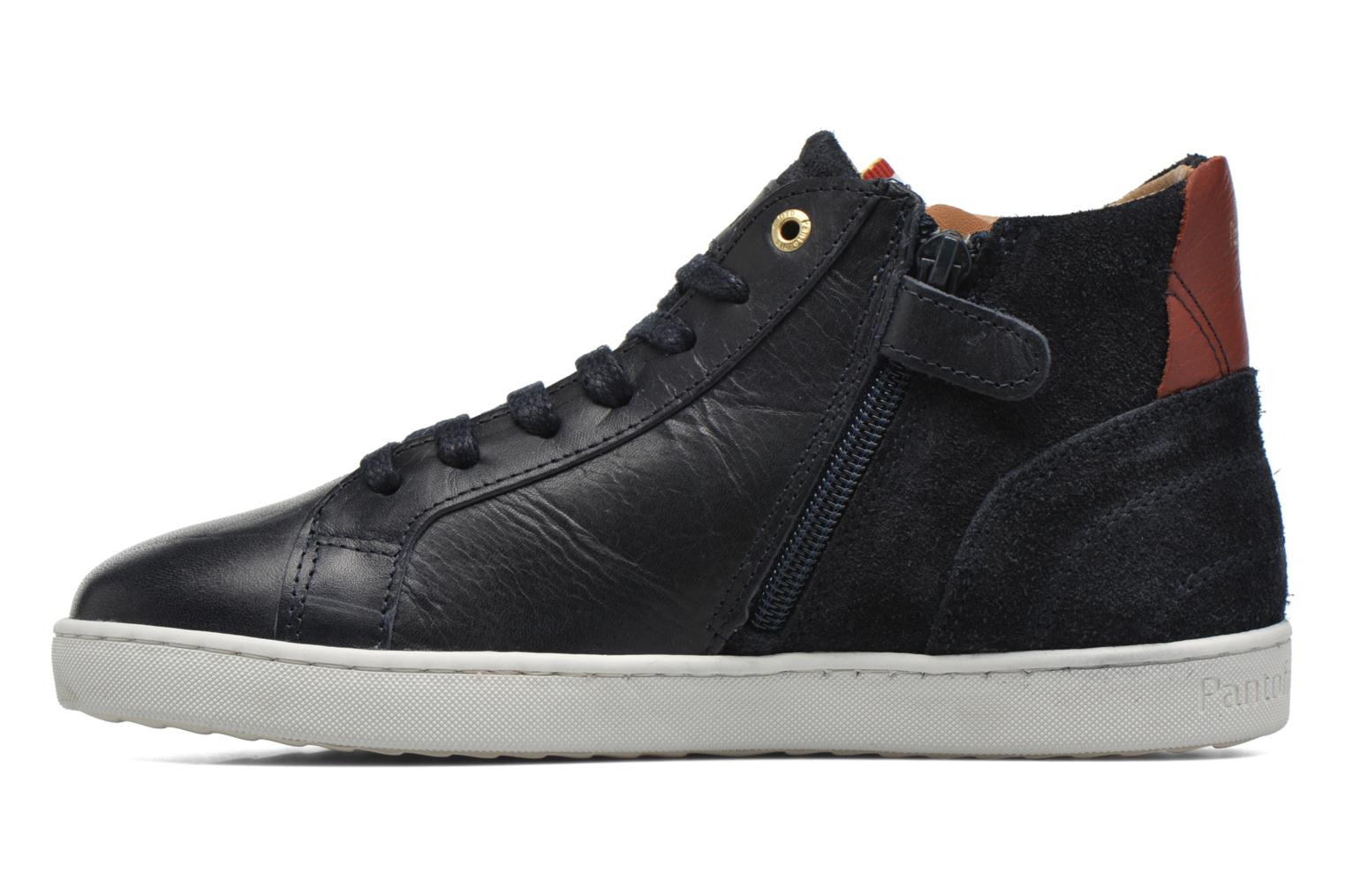 Trainers Pantofola d'Oro Montefino mid JR Black front view