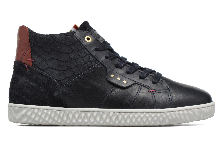 Sneaker Pantofola d'Oro Montefino mid JR schwarz ansicht von hinten