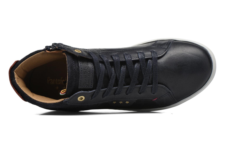 Baskets Pantofola d'Oro Montefino mid JR Noir vue gauche