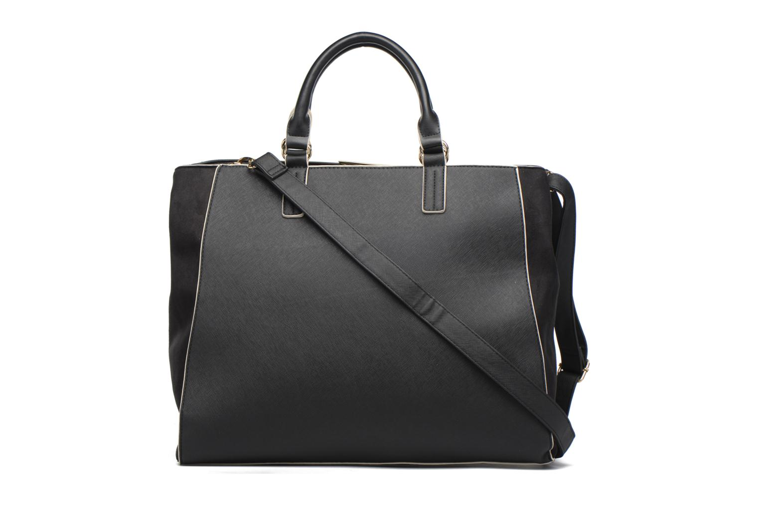Sacs à main Dorothy Perkins Black WBone Piping Belted Oversize Tote Noir vue face