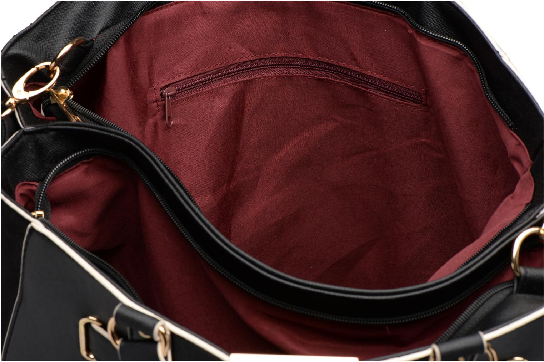 Bolsos de mano Dorothy Perkins Black WBone Piping Belted Oversize Tote Negro vistra trasera